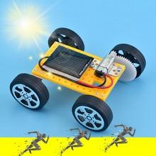 Voiture solaire jouets robot kiti bricolage assembler jouet ensemble solaire alimenté voiture Kit éducatif Science jouets pour garçons filles robot kit voiture robot