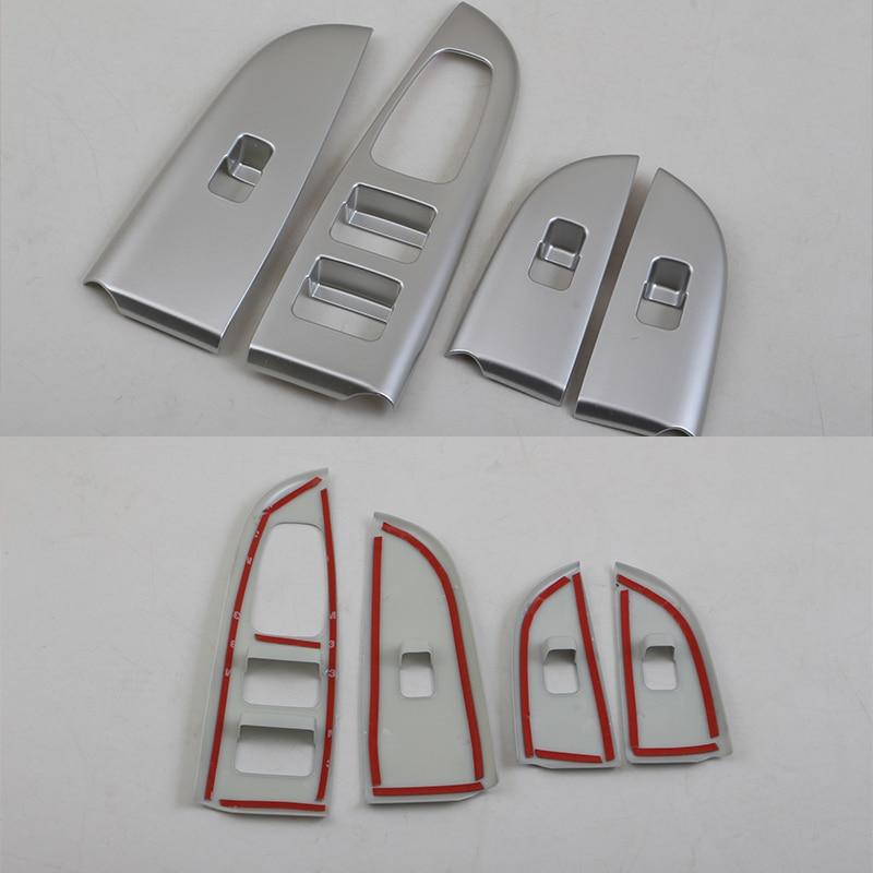 Modify Car Accessories Interior Door Armrest Window Switch Lift Button Cover Trim For Kia K2/Rio 2017 enlarge