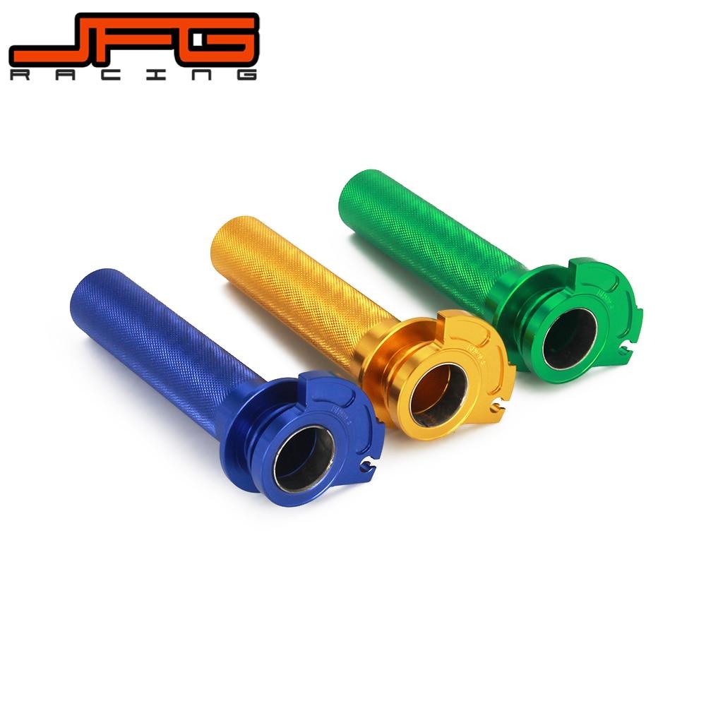 De aluminio CNC Twister acelerador tubo para YZ125 YZ250 1996-2014 RM250 95-05 RM125 1995-2007 KX125 92-05 KX250 1992-2007