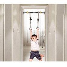 Pierścień fitness dla dzieci do domu poziomy bary pull-up ramię wspólne szkolenia dla dzieci wysokość zwiększenie kółka gimnastyczne