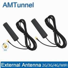 SMA 4G antenne WiFi antenne 3M câble 3G antenne 3dBi 3G 4G routeur antenne externe pour 3G 4G Huawei ZTE dongle USB modem 2 pièces