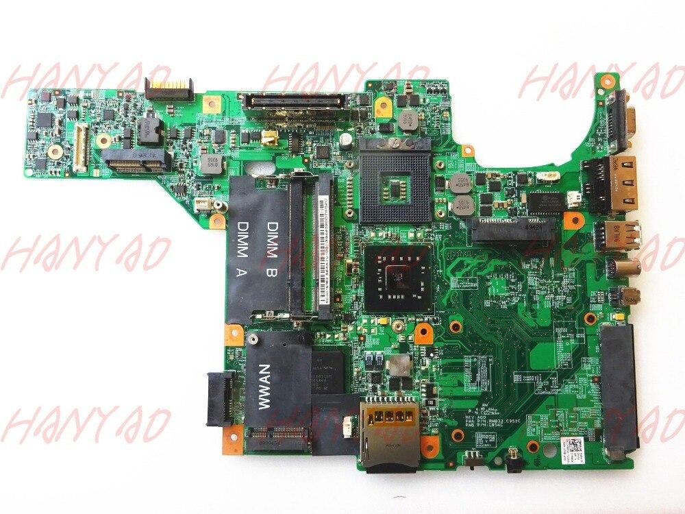 اللوحة الأم للكمبيوتر المحمول dell e5400 ddr2 gm45 ، شحن مجاني ، اختبار 100% ، ok
