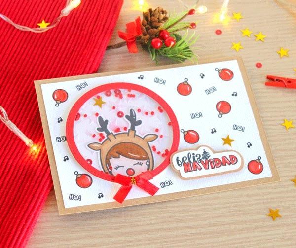 Sello transparente español de navidad para manualidades, álbumes de recortes, tarjetas, para niños, divertidos suministros de decoración navideña