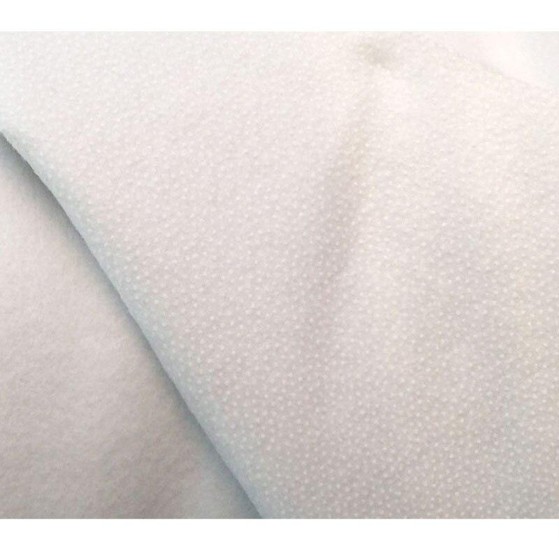 180g/280g único algodão adesivo poliéster wadding rebater interlining enchimento bolsa retalhos estofando artesanato projetos diy forro