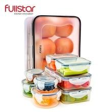 Fullstar boîte à Lunch en plastique   Pour enfants, accessoires de cuisine, conteneur pour les aliments micro-ondes 9 pièces mignon boîte bento outil de cuisine pour les légumes