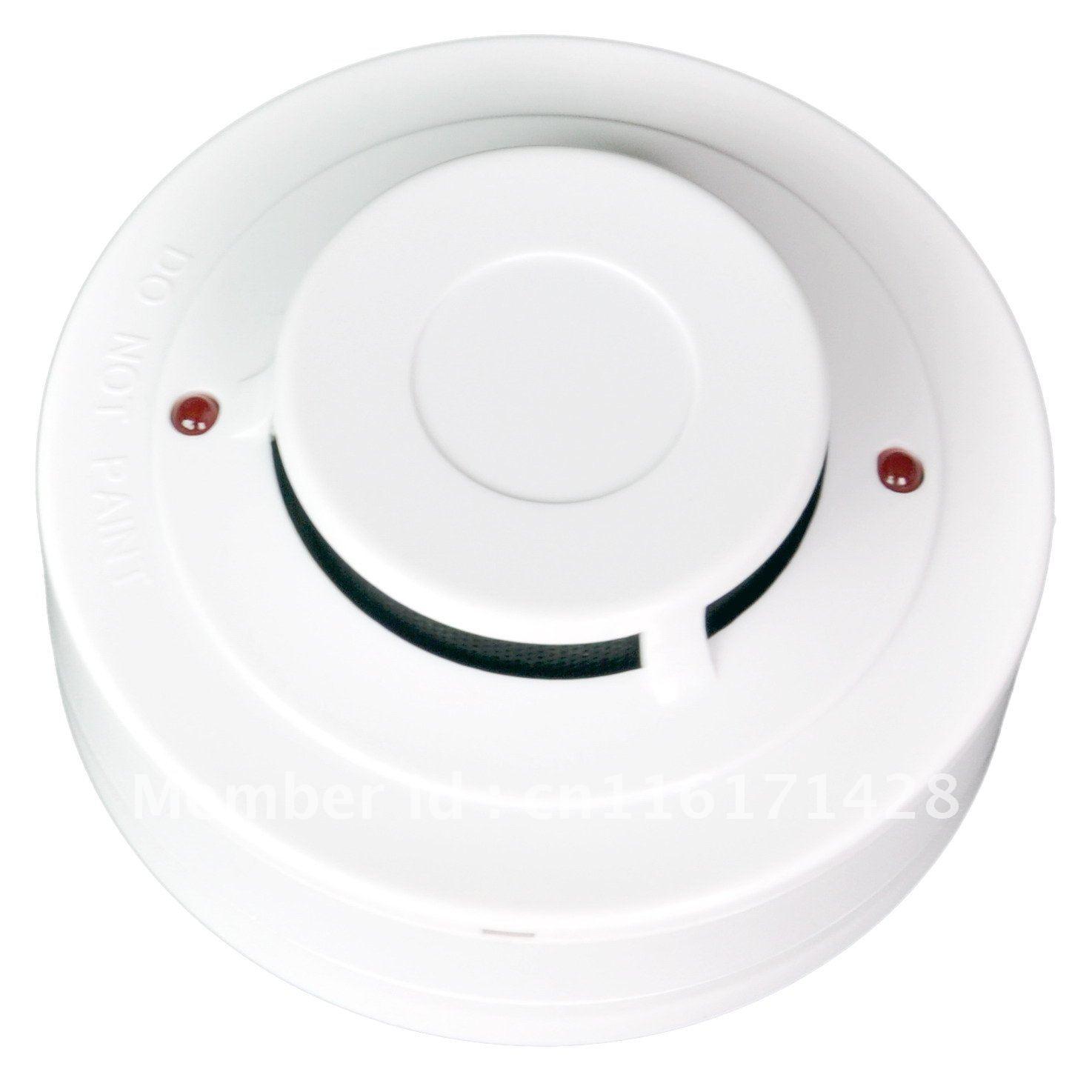 Conventional Smoke Detector  2Wire smoke alarm Fire Alarm Optical Smoke Sensor YT102C 10pcs/lot