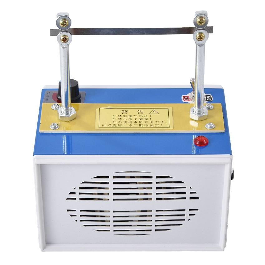 Multi-purpose rq3 máquina de corte quente 400 graus/800 graus ajuste de temperatura marca registrada fita máquina de corte 220 v 100 w