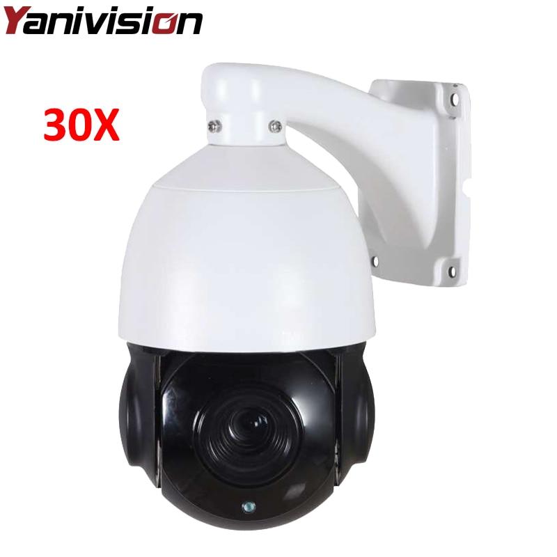 4 inch Mini Size 1080P 4MP 5MP IP PTZ camera Network Onvif Speed Dome 30X Optical Zoom PTZ IP Camera CCTV 80m IR Night Vision