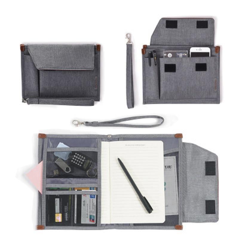 1PC portátil multifunción de almacenamiento de bolsa Digital de cargador de Cable USB auriculares pasaporte archivo bolsa organizadora para almacenamiento caso