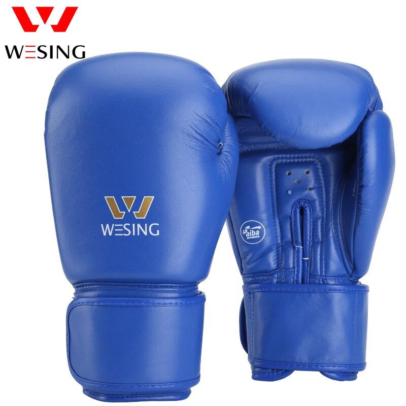 Guantes de boxeo de entrenamiento para hombres, guantes de boxeo, guantes de Kickboxing, guantes de boxeo, 10-12oz
