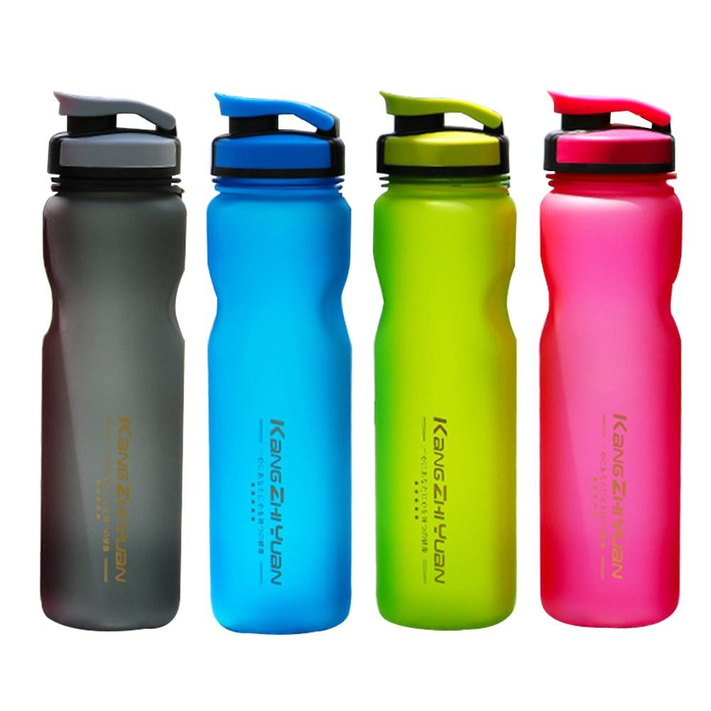 Botella de agua libre de BPA grande de plástico de gran capacidad de 1L, 1 litro/34 oz, tapa de bloqueo asegurada a prueba de fugas para deportes, copa para montar en bicicleta