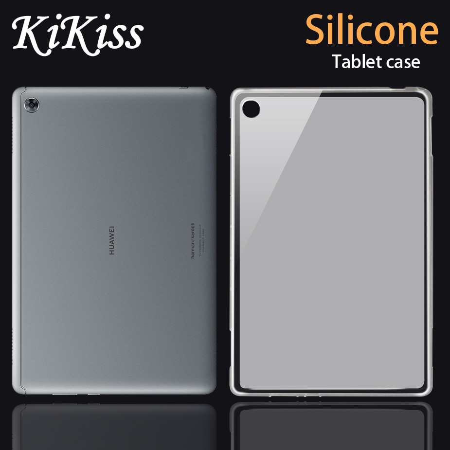 KiKiss de silicona caso para Huawei MediaPad M6/ M5 Lite Pro 8,4/10,8/Media Pad M2 M3 Lite 7,0/10,1/M2 C5 8,0 10,0 Tablet caso de la cubierta