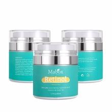 Mabox Rétinol Hydratant Visage Crème Vitamine E Collagène Retin Anti-Âge Rides Dacné Dacide Hyaluronique Anti-âge Sérum