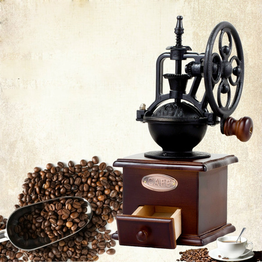 Molinillo de café para el hogar, molinillo de café manual, molinillo de Café manual WF404935