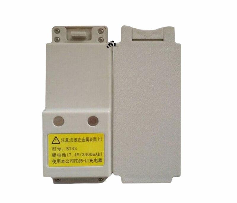 2 baterías de FOIF de alta calidad BT43 para FOIF OTS650, ots 655, Serie de estación total RTS112SL, FOIF RTS/OTS650, 7,4 V 3400mAh