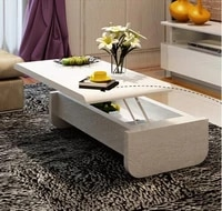 rise and fall of the lacquer that bake tea table multi functional storage tea table
