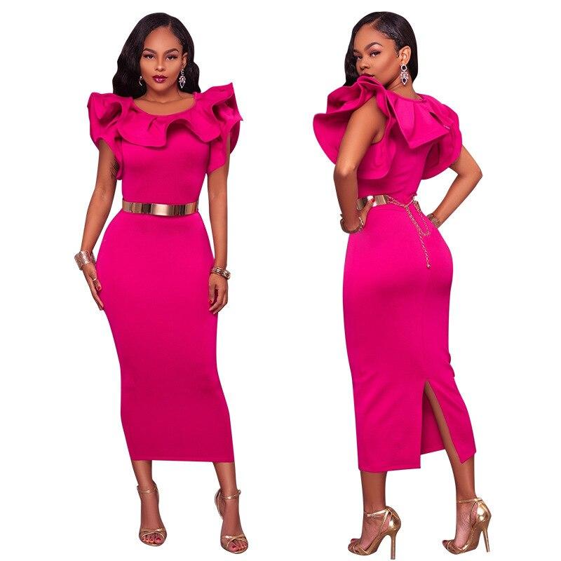 Adogirl plissado midi vestido com cinto elegante mulheres bodycon midi vestidos de festa moda feminina roupas de escritório senhora trabalho wear