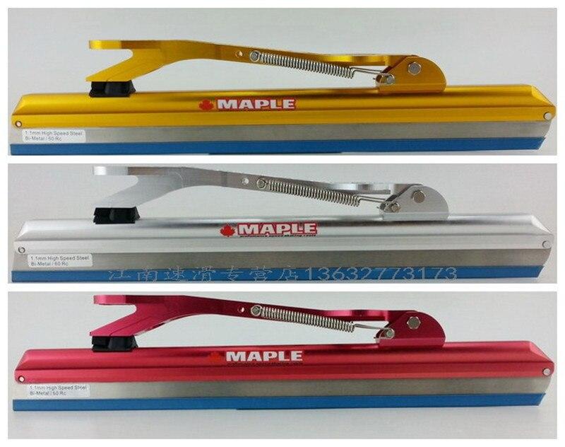 1 par de patines en línea de arce con hoja de patinaje sobre hielo, calzado para patines DIY de 380mm 410mm 430mm de longitud, Envío Gratis