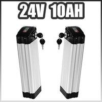silver fish 24V Ebike Battery 24V 10AH Electric bike Lithium ion Battery For 24V 250W 350W motor Samsung cells