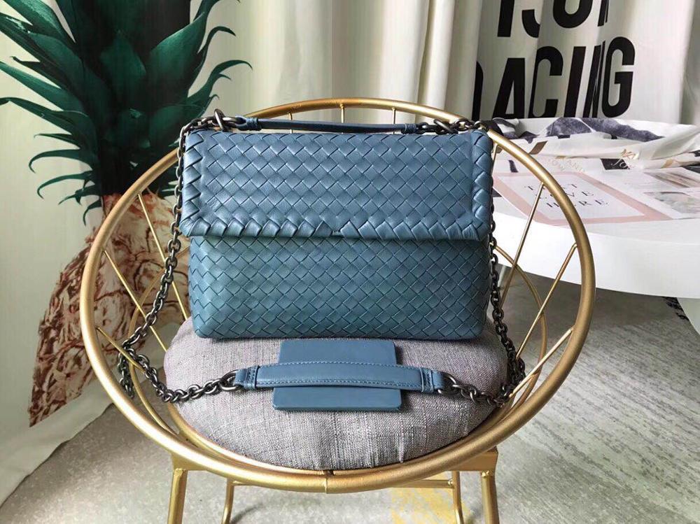 Classic sheepskin genuine leather braided bags cross-straddle handbags brand design style sheepskin braided genuine leather hand