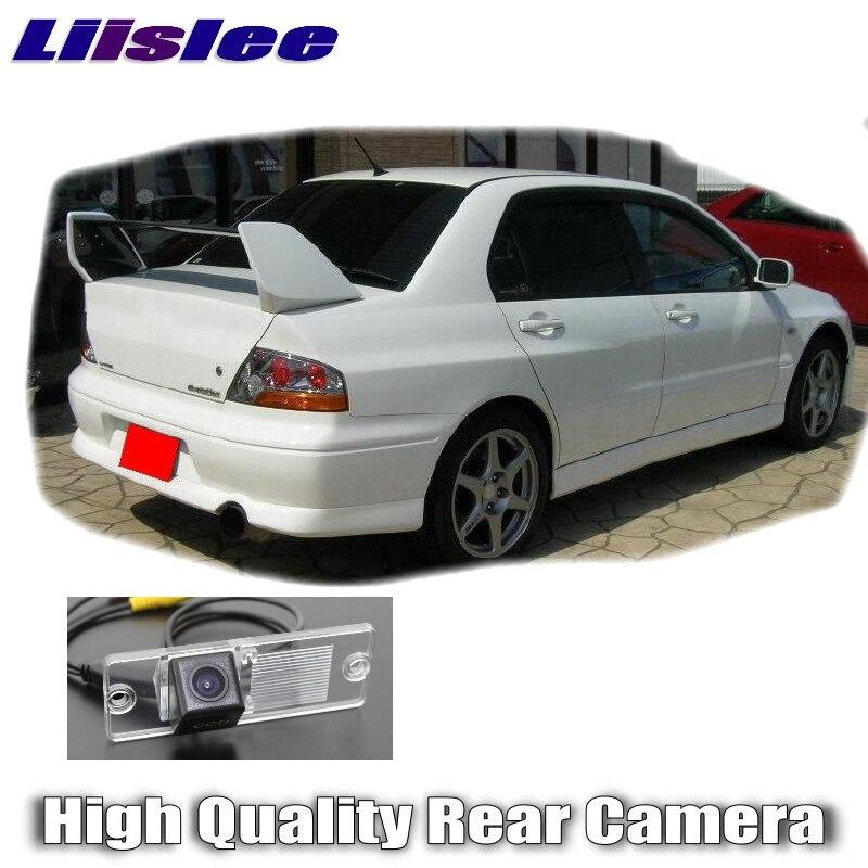 Cámara de coche Liislee para Mitsubishi Lancer Lioncer/Cedia/V3 2000 ~ 2007 cámara trasera de alta calidad para RCA