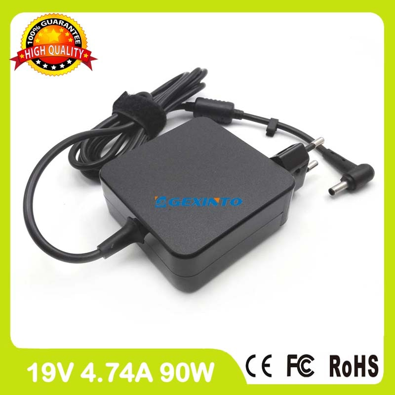19V 4.74A 90W ac محول الطاقة شاحن لابتوب Asus ZenBook الوجه UX560UX BX51V BX51VZ U500V U500VZ UX51V UX51VZ UX51Z الاتحاد الأوروبي التوصيل