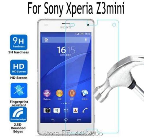 Protector de pantalla para Sony Xperia Z3mini, Protector de vidrio templado para...