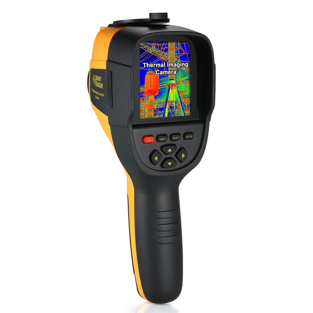 SENSOR inteligente-Cámara de imagen térmica IR de mano de 25 a 450 grados pantalla Digital alta resolución de imagen infrarroja