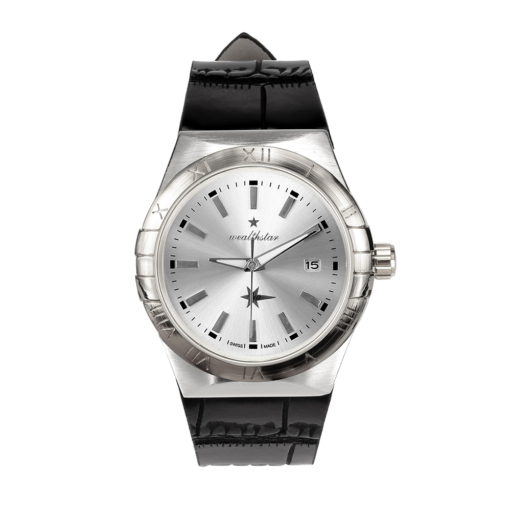 Homens Data papel WEALTHSTAR Moda Quartzo Homens Relógios Marca de Topo Relógio de Pulso Masculino Reloj Hombre Orologio Homens Wath Relógio Esportivo Casuais