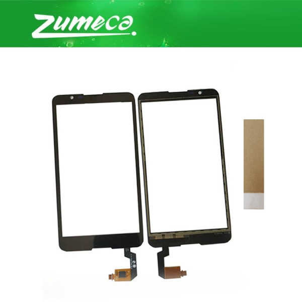 5,0 pulgadas para Sony Xperia E4 E2104 Dual E2105 E2115 E2124 Sony E4 pantalla táctil digitalizador Panel lente vidrio negro blanco Color + cinta