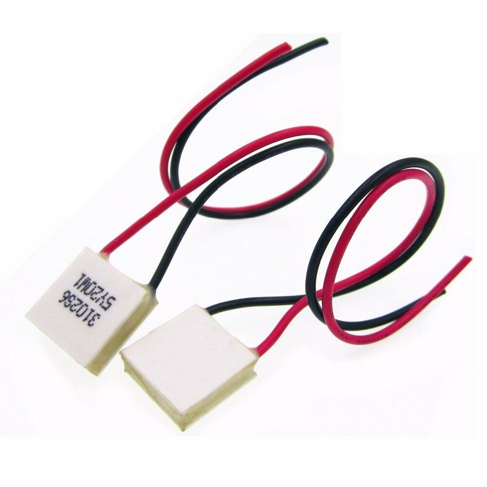 ¡Nuevo! 10 Uds. Enfriador termoeléctrico Peltier TES1-03102 mini 15*15mm baja potencia 3V2A módulo Peltier Elemente de alta eficiencia