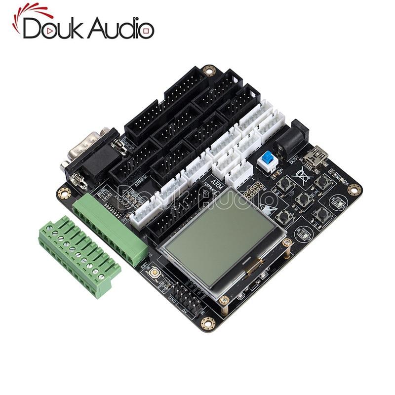Digital Placa de control principal para MAX262 ADS1256 DAC902 AD7606 DAC8552 RS232 módulo