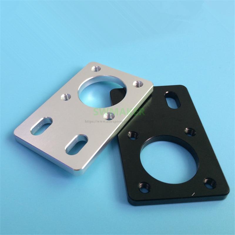 Silver black LMK12 bearing bracket/fixing piece, fixing plate fixing seat for 2020 2040 aluminium profile 3D printer accessories