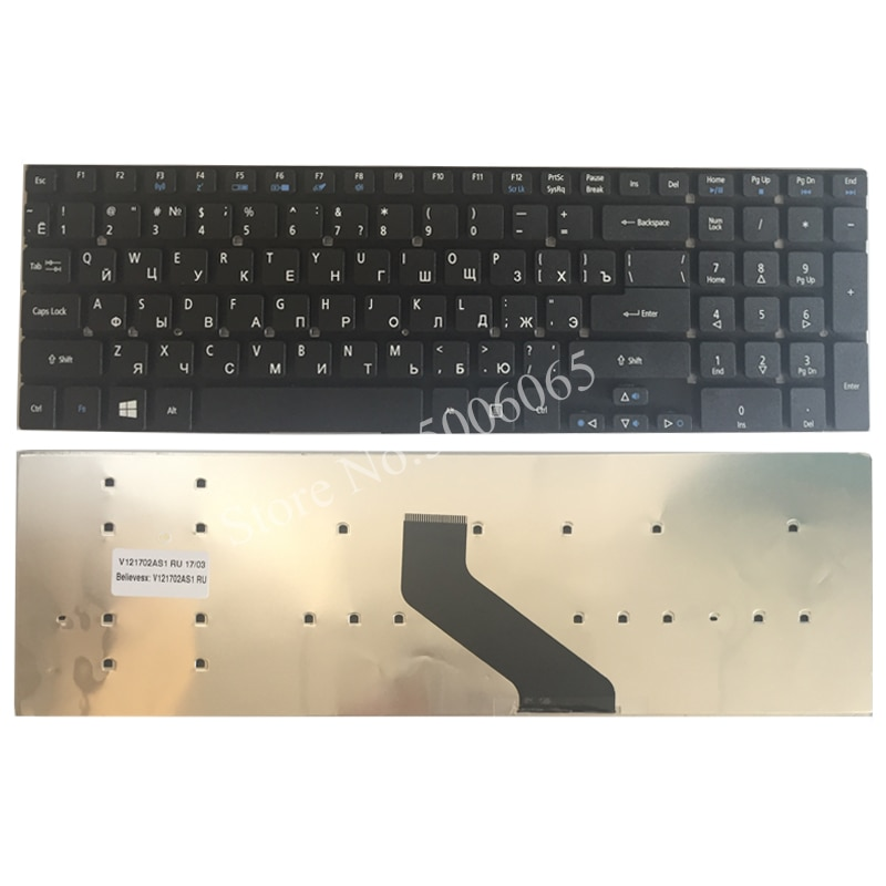 NEW Russian laptop keyboard for Acer Aspire V3-571G V3-771G V3-571 v3-572 V3-771 V3-551G V3-551 MP-10K33SU-6981 RU keyboard