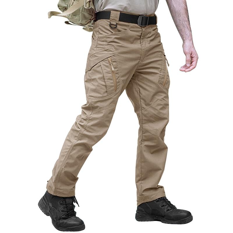 IX9 pantalones de camuflaje tácticos, pantalones de Trekking para hombre, pantalones de Camping, senderismo, pantalones de camuflaje SWAT, pantalones militares de combate para hombres