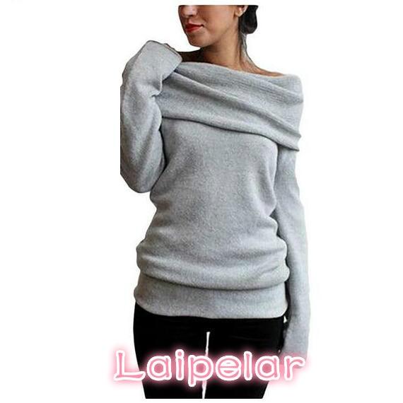 Hot Sweaters Knitted pullover Sweater Women Jumper Pull Femme Winter Long sleeve Wool Female Laipelar