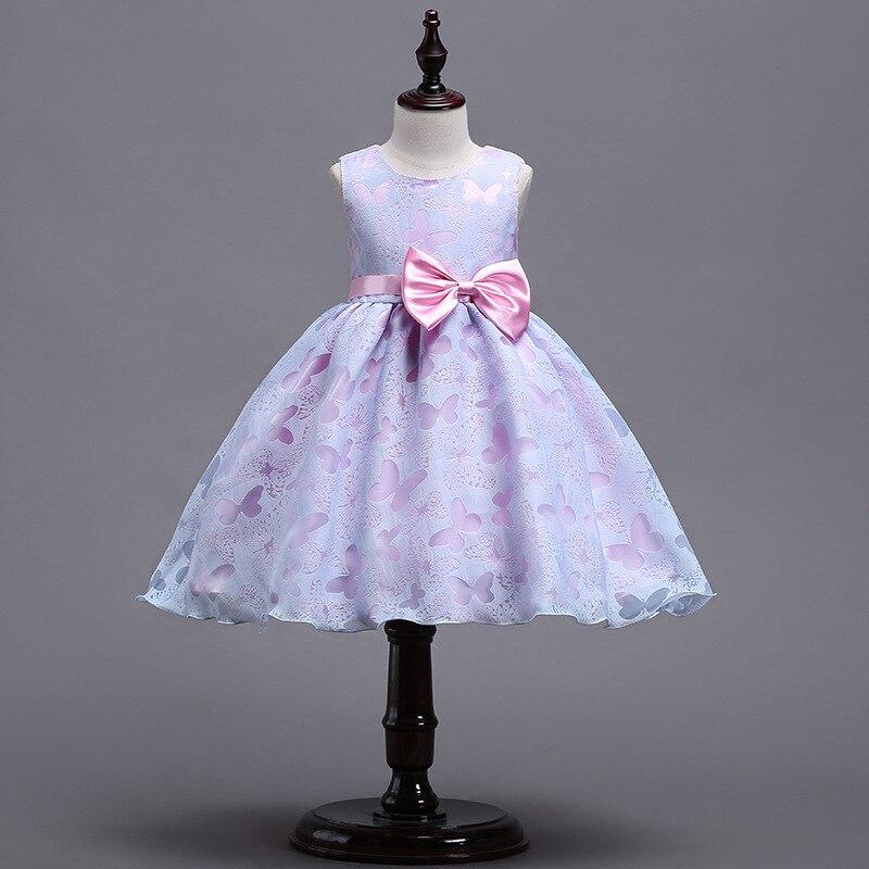 Robe de soirée avec nœud pour petites filles   Tenue de soirée, vêtements de fête, pour enfants
