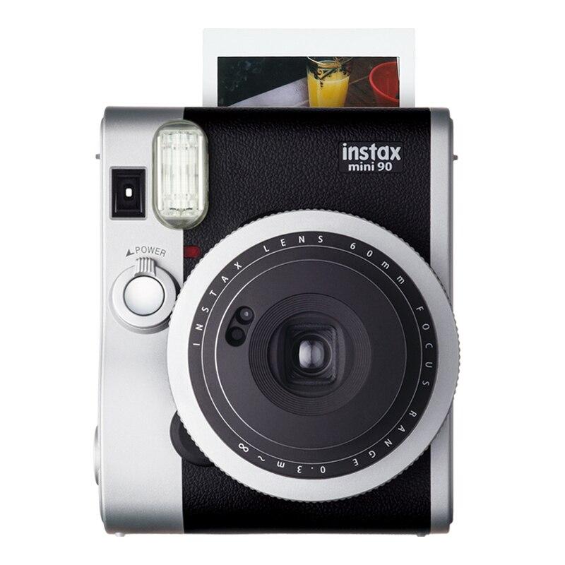 Instax Mini 90 Neo Cámara clásica original para Fujifilm, papel fotográfico instantáneo, 2 colores y Mini película