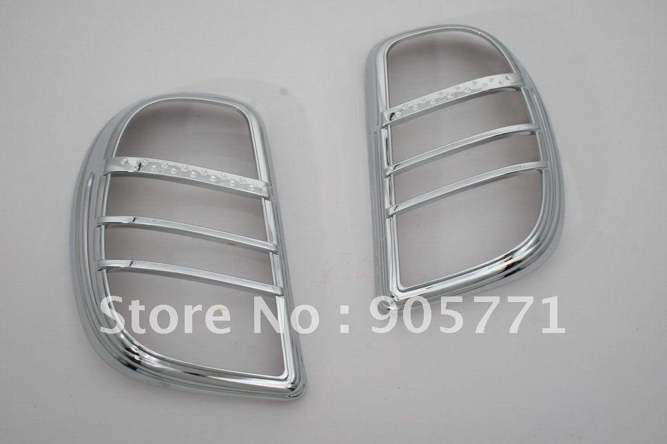 Хромированный задний светильник высокого качества для Nissan March Micra 2010 Up K13, бесплатная доставка