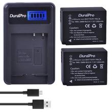 2pc DMW-BLG10 DMW BLG10 BLG10e BP-DC15 BPDC15 Caméra Batterie + Chargeur LCD pour Panasonic LUMIX GF5 GF6 GX7 LX100 GX80 GX85