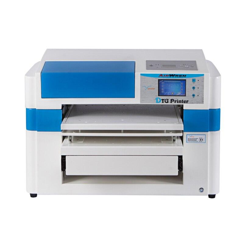 DTG impressora de tamanho a2 dtg Airwren efeito 3d impressora digital têxtil