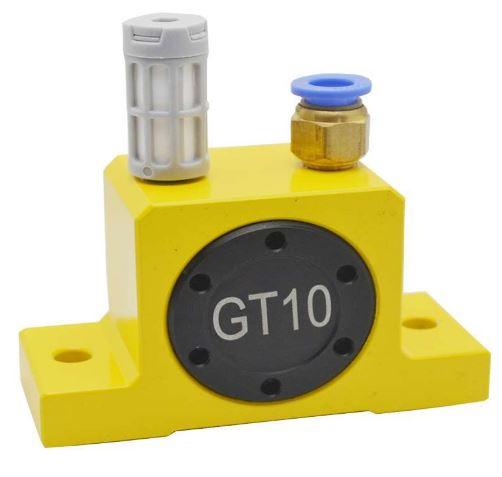 Vibrador neumático de turbina de aire GT4 GT6 GT8 GT10 GT13 GT16 GT20 GT25