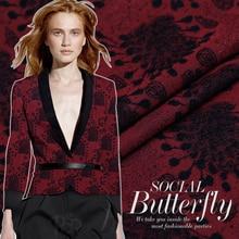 140m wide 350g/m custom Jacquard gold thread fashion fabric dress half skirt fabric wide jacquard clearance
