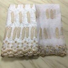 Perles de haute qualité 2018 femmes   Filet en dentelle Bazin, tissu guipure, pour robe de 7 ans/lot LPL71157, Bassin en dentelle suisse et français, 5 yards