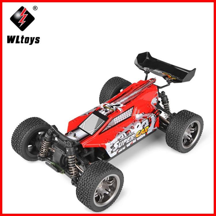 Высокоскоростная машинка Wltoys 12401, Радиоуправляемая машинка 1/12, 4WD, гусеничный Радиоуправляемый автомобиль RTR 2,4 ГГц, гоночный Радиоуправляем...
