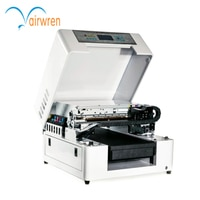 A3 Size UV Phone Case Printer Flatbed UV Printing Machine For Metal Glass Plastic Wood Automatic High Speed UV Printers