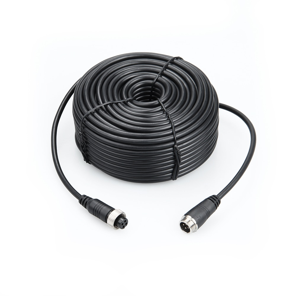 3M/5M/10M/15M/20M/ 4 PIN Aviation Connector Cable Video and Audio Cable, Professional Extend Cable for CCTV Mdvr enlarge