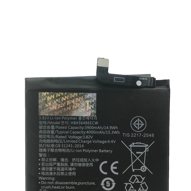 AVY Battery HB436486ECW For Huawei Mate 10 Pro Mate10 X ALP-AL00 Mobile phone Replacement Rechargeable Batteries 3900/4000mAh enlarge