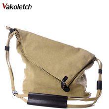 Female Canvas Vintage Shoulder Bag Ladies Crossbody Bags for Small Bucket Designer Handbags New Women Messenger Bags KL280