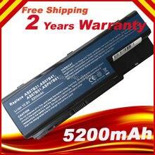 HSW Batterie 6 cellules Batterie pour Acer Aspire 5520 5230 5710ZG 5730ZG AS07B31 AS07B41 AS07B51 AS07B71
